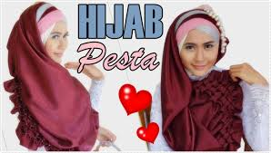 tutorial jilbab segi 4 untuk kebaya hijab kebaya 2 in 1 daisy segi empat hijab pesta menutup dada vs