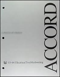 2004 honda accord owners manual pdf 2003 2004 honda accord electrical troubleshooting manual original