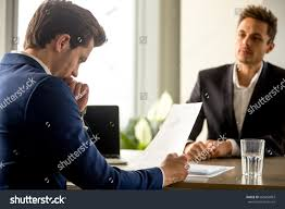 Human Resource Director Resume Skilled Successful Human Resource Manager Analyzing Stock Photo