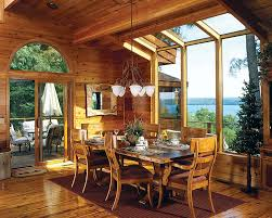 best log home dining rooms pictures house design interior