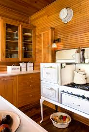 cabin up north shabby chic style kitchen minneapolis by
