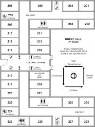 center hall colonial floor plans dennis m burke hall st norbert college