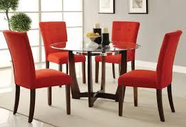 baldwin side chair in microfiber u0026 walnut set of 2 multiple