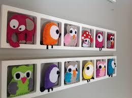 cadre chambre bébé fille idée décoration chambre enfant et bébé cadre mural animaux colores