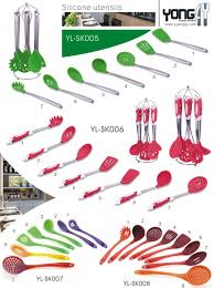 Kitchen Utensils Names by Yongly With Plastic Handle Fda Approved Names Of Cooking Utensils