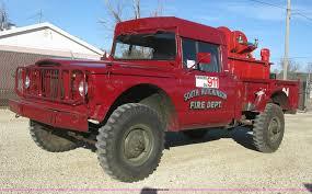 jeep kaiser 1968 kaiser jeep m715 fire truck item j2962 sold februa
