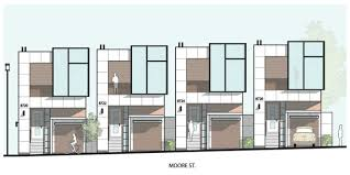 Modern Row Houses - elevations explore elevations on deviantart