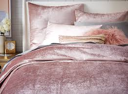 Pottery Barn Alessandra Duvet Velvet Is Making A Comeback