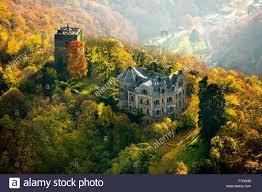 Bad Breisig Burg Rheineck In The Rhine Valley Rhine Autumn Leaves Bad