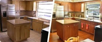 Sears Cabinet Refacing Luxurious And Splendid Home Depot Cabinets - Kitchen cabinet refacing before and after photos