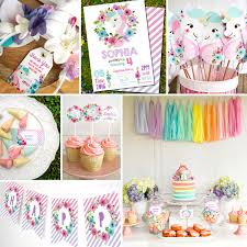Decoration Ideas For Birthday Party At Home Unicorn Birthday Party Decorations Unicorn Party Decor