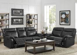 grey dual reclining sofa