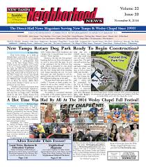 new tampa neighborhood news issue 23 november 8 2014 by