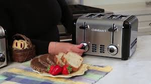 Cuisinart 4 Slice Toaster Cpt 180 Cuisinart Cpt 340 Compact Stainless 4 Slice Toaster Price 42 03