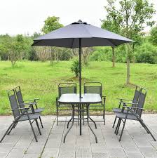 6 Seat Patio Table And Chairs Patio Outstanding 6 Chair Patio Set Patio Table And Six Chairs