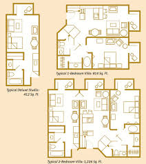disney boardwalk villas floor plan value moderate or deluxe part 3 real family travels