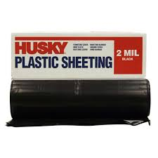 hdx 10 ft x 100 ft clear 6 mil plastic sheeting cfhd0610c the