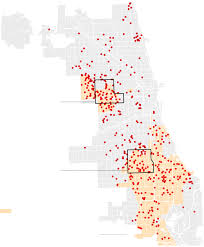 Chicago Poverty Map by Murder Rates Rose In A Quarter Of The Nation U0027s 100 Largest Cities
