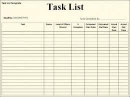 task list template forms for office etc pinterest template