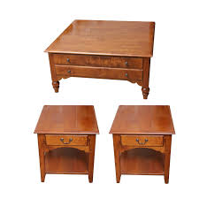 ethan allen coffee table and end tables ethan allen coffee table and two end tables ebth