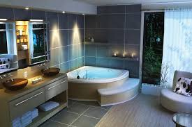 lighting ideas for bathrooms smart bathroom led lighting ideas for the corner bathroom
