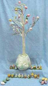 easter ornament tree easter ornament tree eggs leaves attached bendable branches bunnies