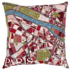 Map Tapestry Contemporary Paris City Map Tapestry Kit By Hannah Bass