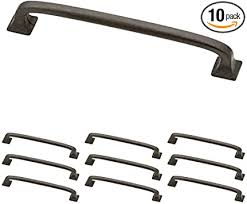 home depot brass kitchen cabinet handles franklin brass soft iron square pull cabinet handles and drawer pulls for kitchen cabinets and dresser drawers 5 5 16 inch 10 pack