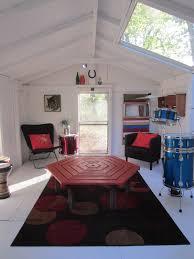 relaxshacks com deek u0027s crappy shed becomes a modern rock room man