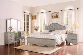upholstered bedroom set homelegance toulouse upholstered bedroom set chagne b1901 1