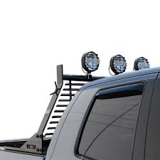 Teardrop Cab Lights by Hdx Headache Rack 4 Mounting Tabs For Optional Lights Or