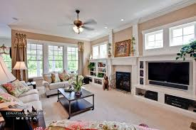 Built Ins For Living Room Traditional Living Room With Crown Molding By Stephen Alexander