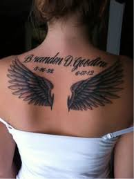 angel wing tattoos for women angel wing tattoos for women 8