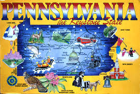 Map Of Pennsylvania And New York by Pennsylvania Colony Project Libguides At Tredyffrin Easttown