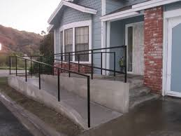Wheelchair Ramp Handrails Wheelchair Ramp Photo Gallery