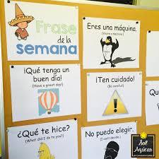 incorporating a frase de la semana in the spanish classroom sol