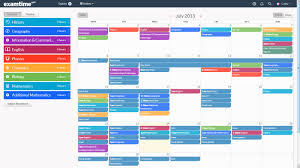 create a revision timetable with examtime u0027s new study tool