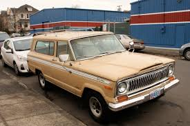 jeep cherokee 1980 old parked cars 1976 jeep cherokee