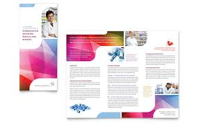free template for brochure microsoft office pharmacy school tri fold brochure template word publisher