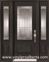 Steel Vs Fiberglass Exterior Door Cheap Entry Doors With Side Lights Steel Entry Door With 2