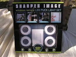 sharper image wireless remote led puck lights hafele recessed led puck lights led puck light led flood light