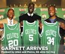 Kevin Garnett Photo Gallery CELTICS | Official Website of BBallOne.
