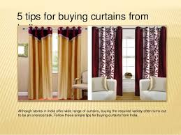 Curtain Stores 5 Tips For Buying Curtains From India