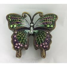 butterfly urn pink green butterfly urn holds small amount of ashes
