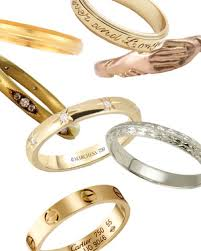 wedding bands 12 gold wedding bands for women that we ve taken a shine to