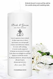 for your wedding unity candles personalized just for your wedding home
