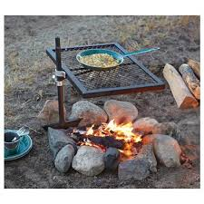 Firepit Grills Guide Gear Swivel Pit Grill 234364 Stoves At Sportsman S