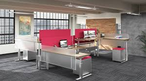 Sit Stand Office Desk by Modern Industrial Sit Stand Desks Ambience Doré