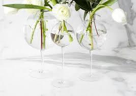 Flowers Glass Vase Glass Vases Elegant Recycled Glass Flower And Decorative Vases