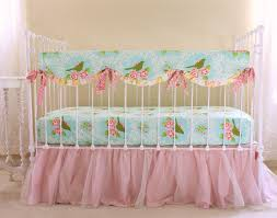 Pink Nursery Bedding Sets by Turquoise Mockingbird Baby Bedding Lottie Da Baby Baby Bedding